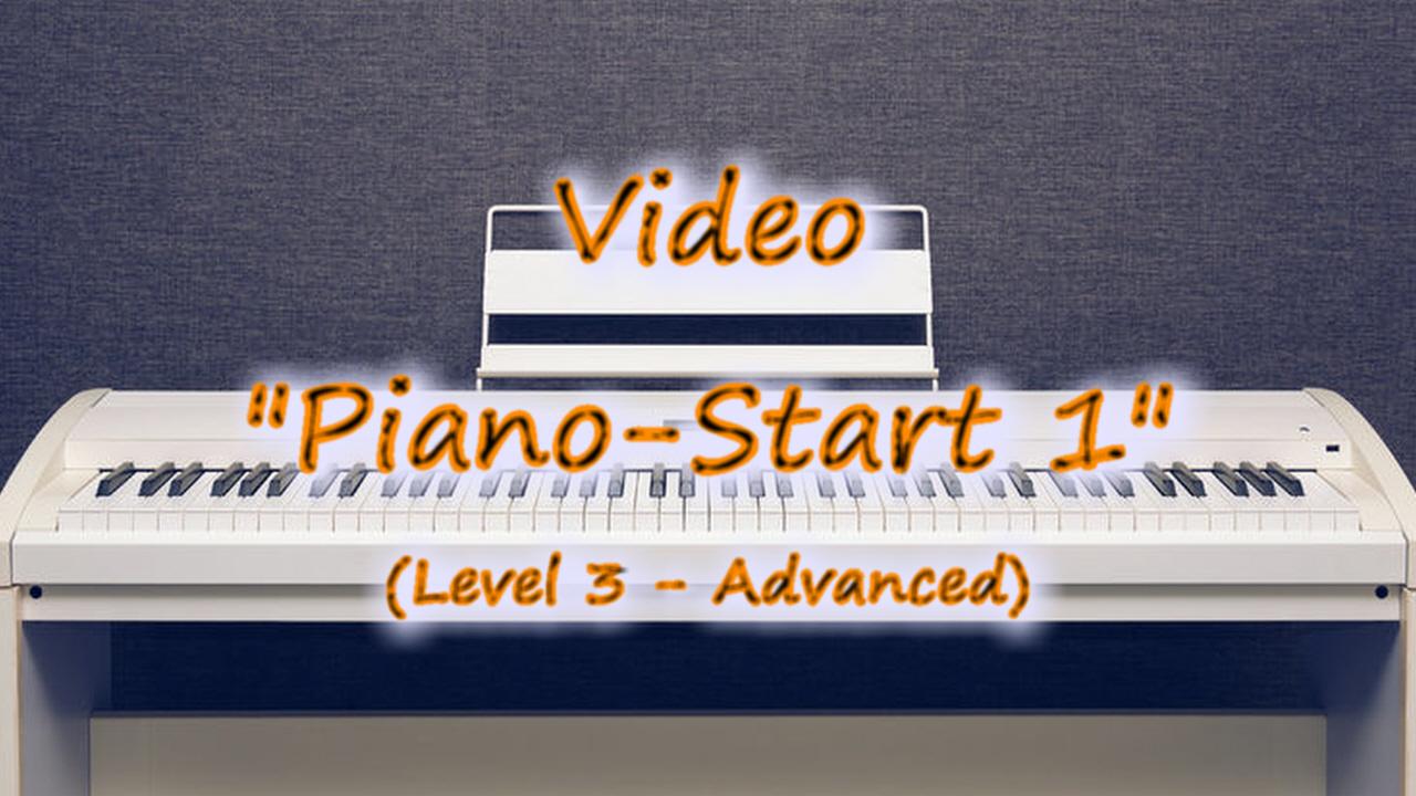 Thumbnail-Button zu Klavier-Lehrvideo Piano-Start 1