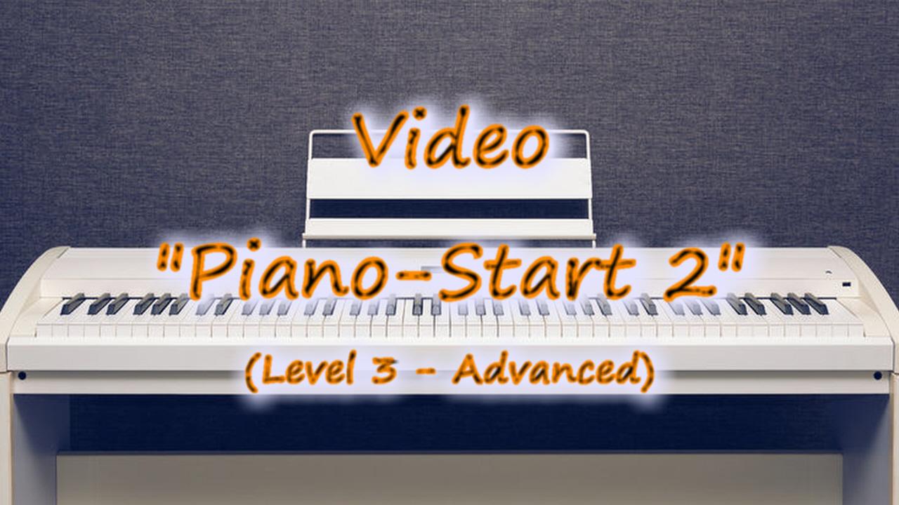 Thumbnail-Button zu Klavier-Lehrvideo Piano-Start 2