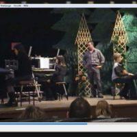 2000 Demoabend von Niños Musikschule Keytek - von seinen Schülern live an 3 Keyboards gespielt: The Riddle