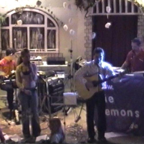 """2002 """"Die Lemons"""" live beim Demoabend von """"Keytek"""""""
