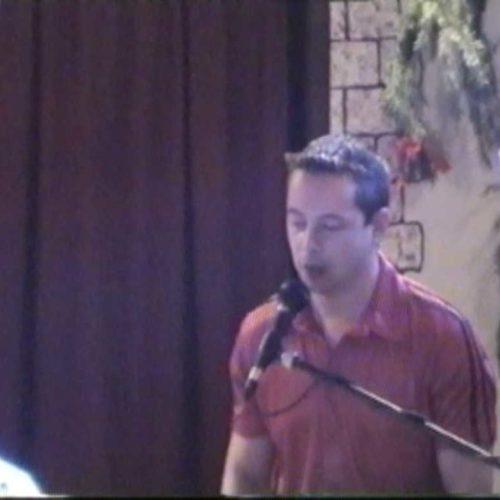 2002 Niño singt bei Die Lemons - live beim Demoabend von Niños Musikschule
