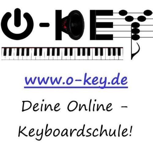 2014 Logo der neu gegründeten Onlinemusikschule O-Key