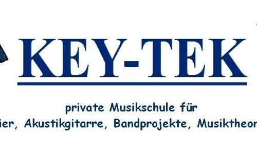 """1998 Logo der neu gegründeten Musikschule """"Keytek"""""""
