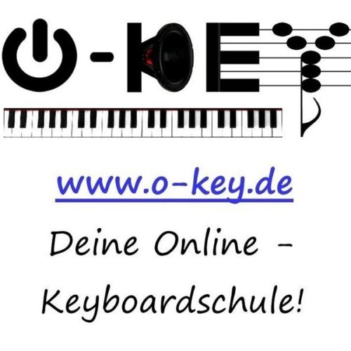 """2014 Logo der neu gegründeten Onlinemusikschule """"O-Key"""""""