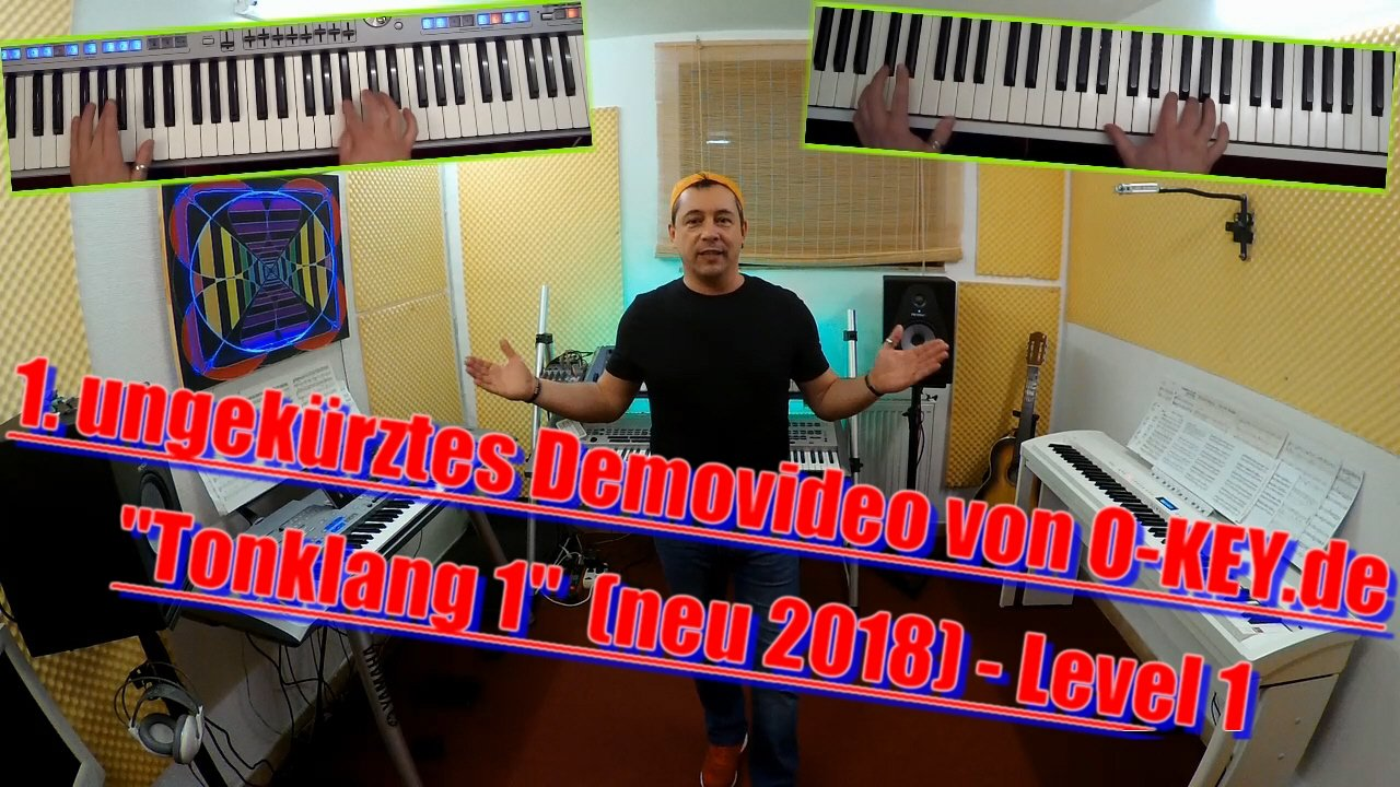 Niño begrüßt dich zum Startvideo Tonklang 1