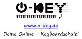 das Logo der O-Key Online-Keyboardschule