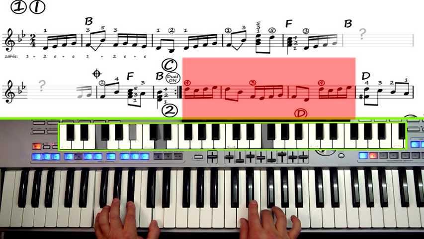 Mit Spaß online Keyboard lernen - O-Key hat die besten Lehrvideos!