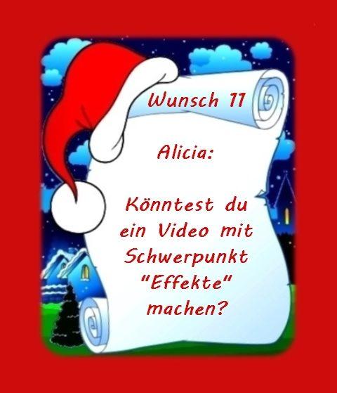 Wunsch von Alicia