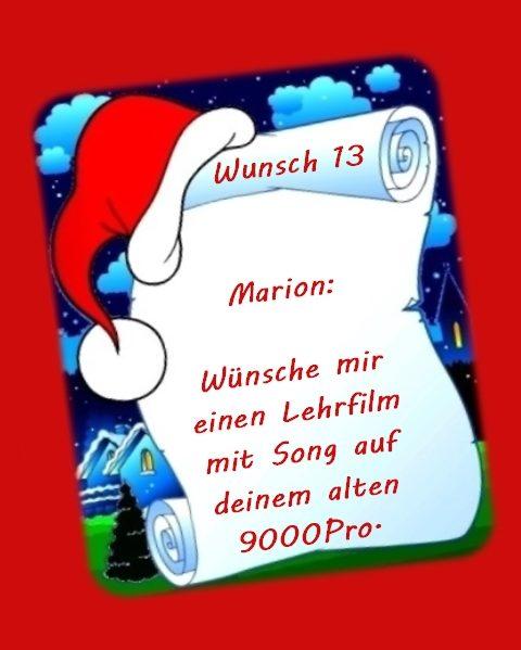 Wunsch von Marion