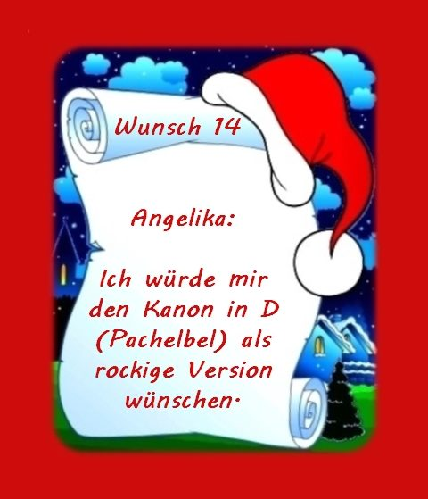 Wunsch von Angelika