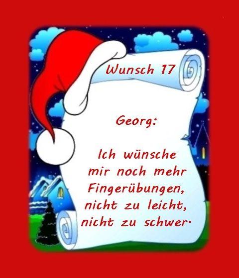 Wunsch von Georg