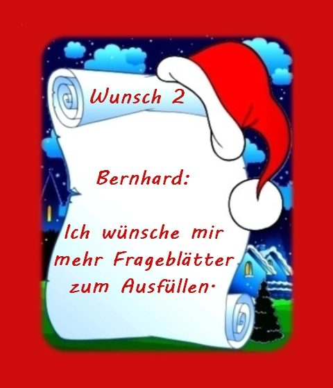 Wunsch von Bernhard