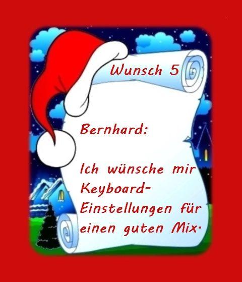 Wunsch von Bernhard 2