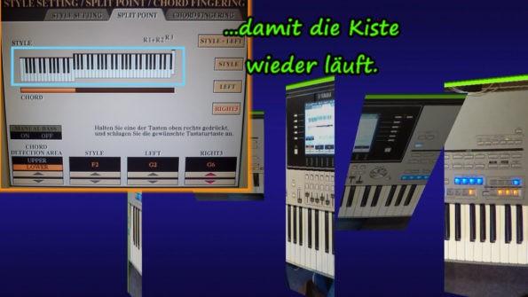 """Thumbnail zum Themenvideo 1 (Level 3) der Keyboardlehrvideoreihe """"die 4 häufigsten Technikfragen"""""""