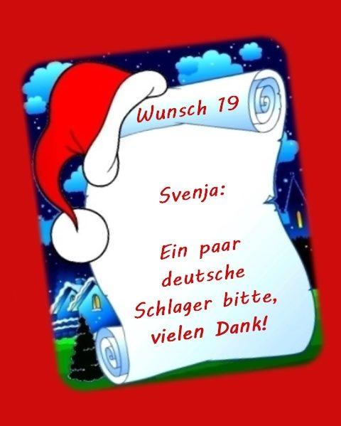 Wunsch von Svenja