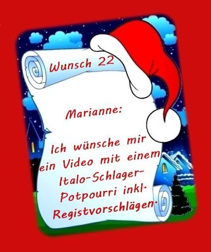 Wunsch von Marianne