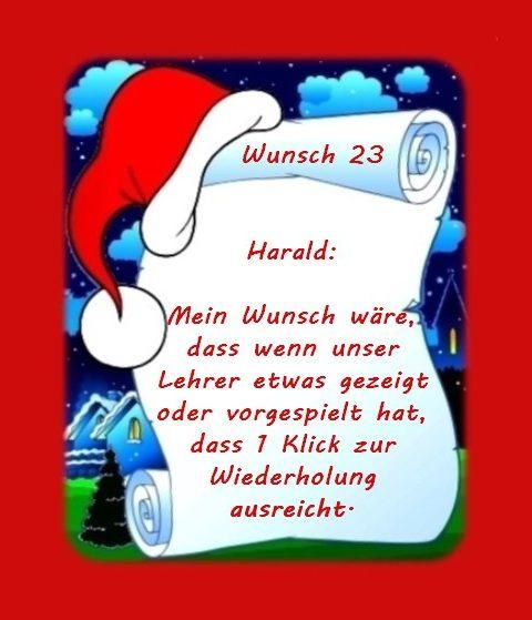 Wunsch von Harald