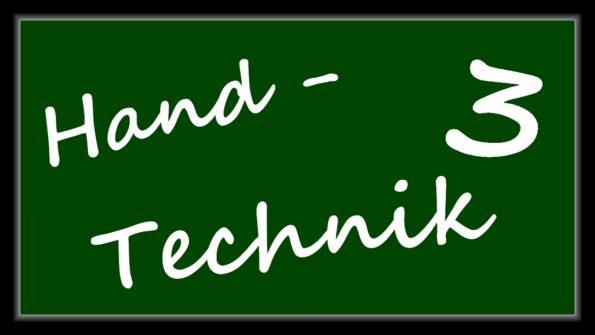 "Thumbnail zur Videoreihe ""Handtechnik 3"""