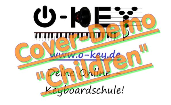 Thumbnail-Button zu Keyboardschule Cover-Demo Video Children