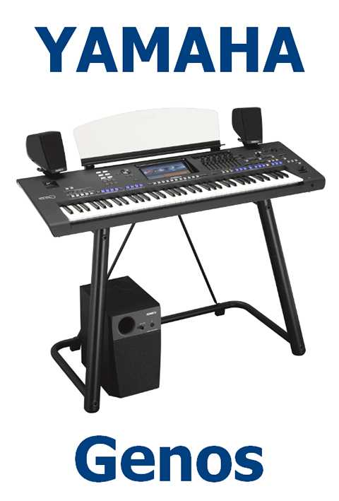 Yamaha Genos XXL-Set