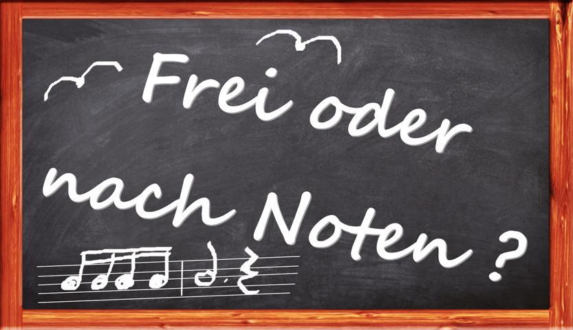 frei oder nach Noten Klavier spielen lernen