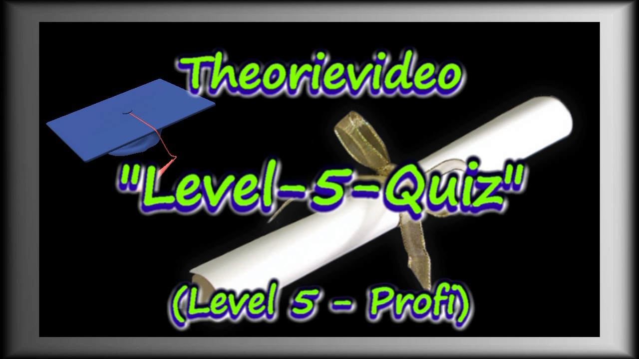 Examen-Urkunde Highschool-Abschluss-Mütze Level 5