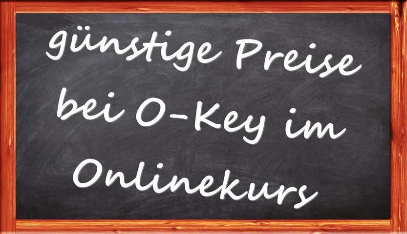 Tafelschrift günstige Preise bei OKey im Onlinekurs