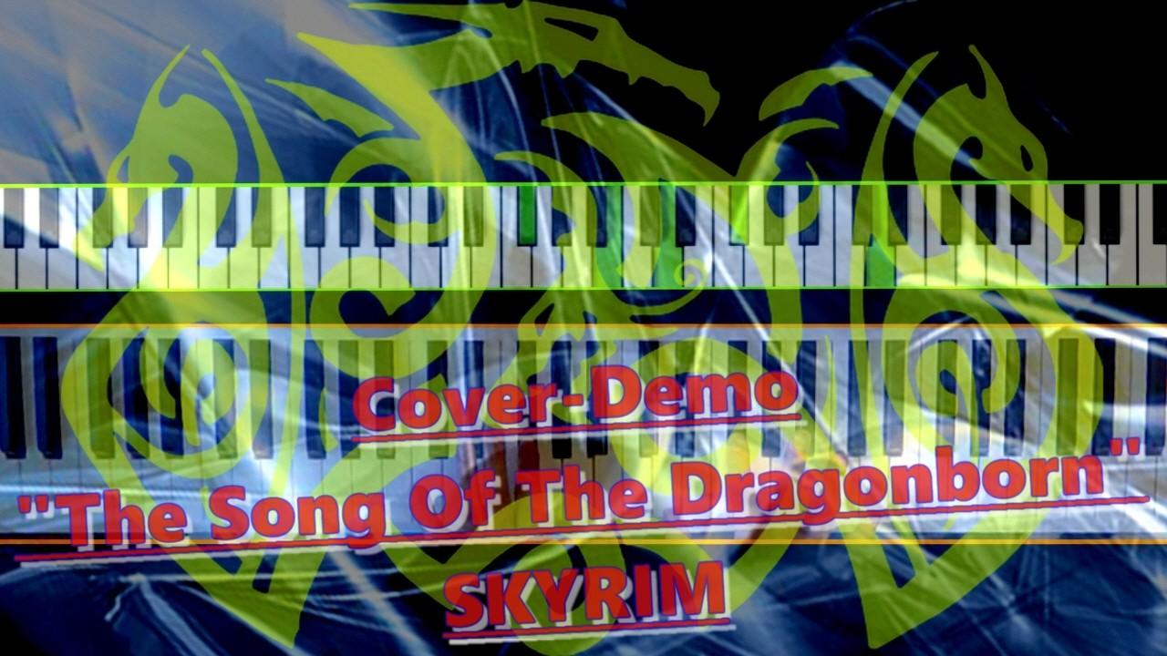 Thumbnail mit Drachen-Motiv auf Fantasy-Hintergrund