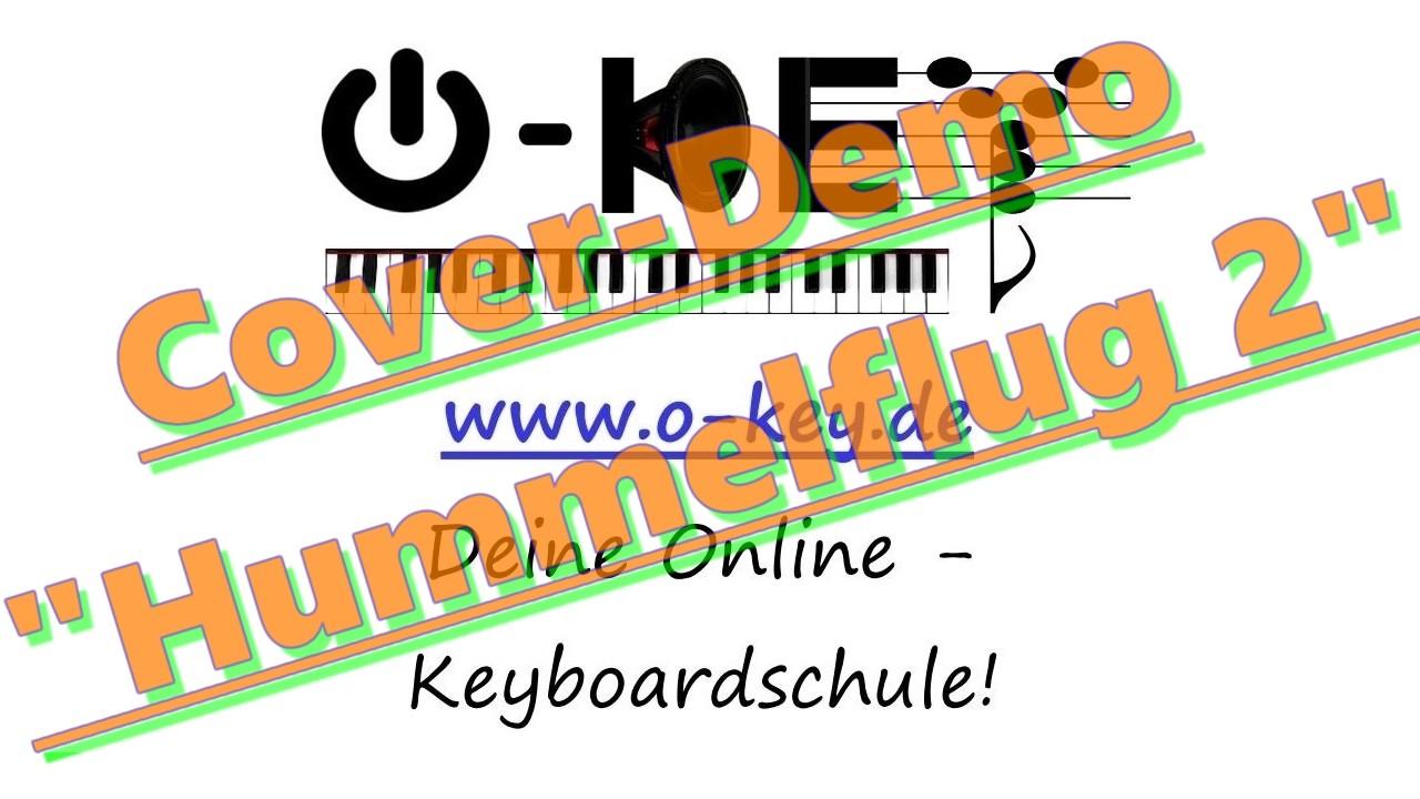 "Thumbnail-Link des Spieldemos ""Hummelflug"" am Keyboard"