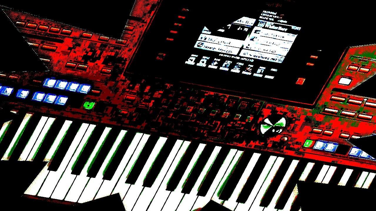 "Screenshot in rot aus Filmszene von ""Slash-Akkorde"""