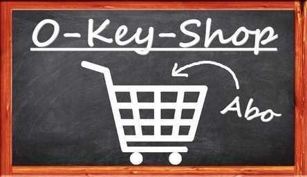 Einkaufswagen für Unterricht zum Keyboard lernen