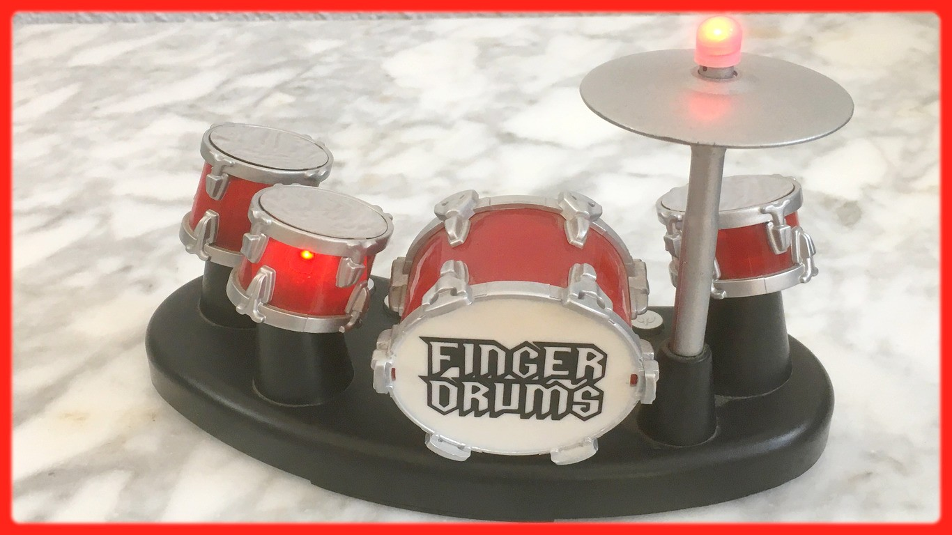 "Finger-Drums aus Video ""Drums on Keys"""