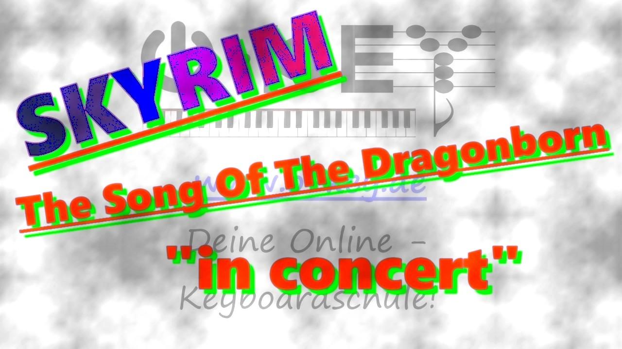 """""""Skyrim in concert"""" Thumbnail zum Youtube-Spieldemo"""