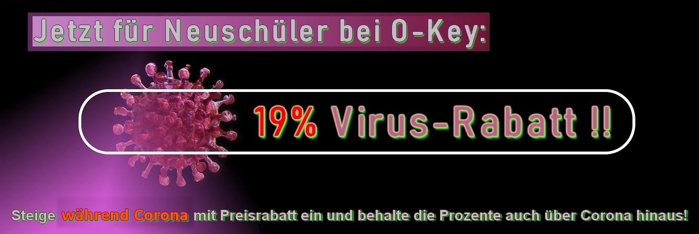 19% Virus-Rabatt für Neuschüler